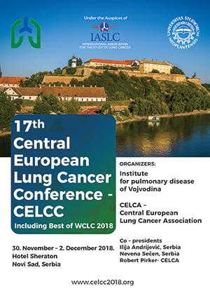 17. Kongres Centralne Evrope o raku pluća – CELCC 2018